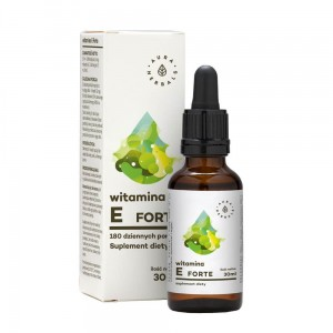 Witamina E forte krople 12mg 30ml Aura Herbals