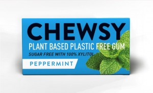Naturalna guma do żucia peppermint z ksylitolem 15g